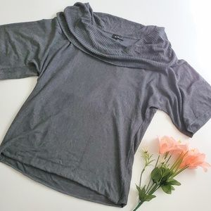 Womens Alyx Cowl Neck Short sleeve sweater